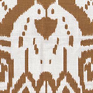 6460-27 ISLAND IKAT Camel II on Tint Quadrille Fabric