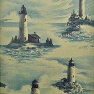 LWP68571W PEMAQUID Stormy Ralph Lauren Wallpaper
