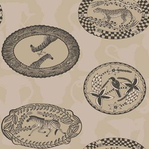 109/4020-CS MATRINAH Stone Gilver Cole & Son Wallpaper