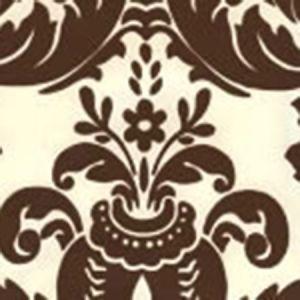 302165W MONTY Monty Sable Brown On Off White Quadrille Wallpaper