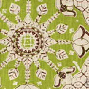 6430T-06 NEW BATIK New Jungle New Brown on Tan Quadrille Fabric