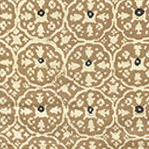 149-43WP NITIK II Camel II On Almost White Quadrille Wallpaper