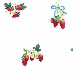 Nathan Turner Strawberry is My Jam White Wallpaper