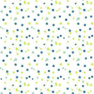 Nathan Turner Splattered Blue Wallpaper