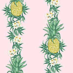 Nathan Turner Pineapple Express Pink Wallpaper