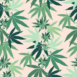 Nathan Turner Cannabis Peach Wallpaper