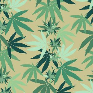 Nathan Turner Cannabis Bamboo Wallpaper