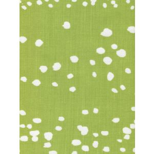 4055-13 RIO REVERSE Chartreuse on White Quadrille Fabric