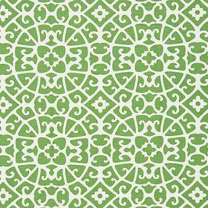 SC 000316559 16559-003 ANSHUN LATTICE Jade Scalamandre Fabric