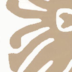 2470-01WP SIGOURNEY Taupe On White Quadrille Wallpaper