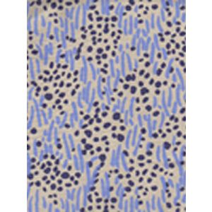 3030-09 TRILBY Blue Navy Dots on Tan Quadrille Fabric