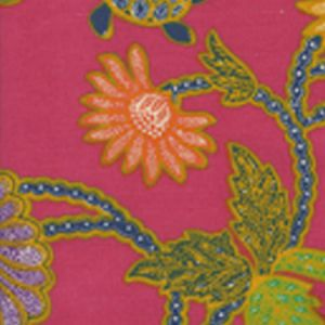 2310-05 TURTLE BATIK Magenta Multi Quadrille Fabric