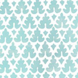 304040WP VOLPI Turquoise Quadrille Wallpaper