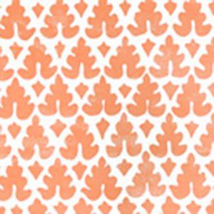 304041WP VOLPI Orange Quadrille Wallpaper