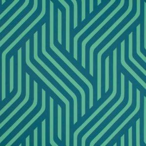 W3477-350 PROXMIRE Peacock Kravet Wallpaper