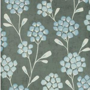 W3511-521 SCANDI FLORA Graphite Kravet Wallpaper