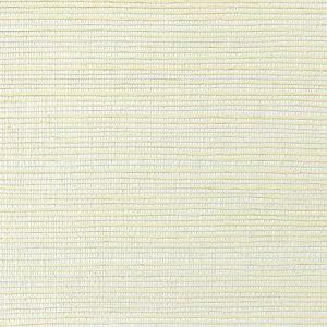 WNM 0004META METALLICA GRASSCLOTH Vanilla Scalamandre Wallpaper