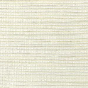 WNM 0005META METALLICA GRASSCLOTH Milk Scalamandre Wallpaper