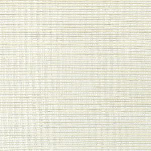 WNM 0007META METALLICA GRASSCLOTH Ivory Scalamandre Wallpaper