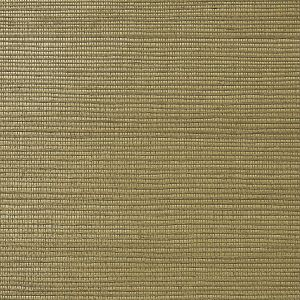WNM 0026META METALLICA GRASSCLOTH Saddle Scalamandre Wallpaper