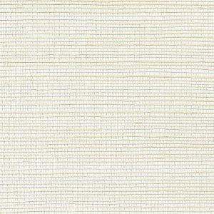 WNM 0027META METALLICA GRASSCLOTH Bisque Scalamandre Wallpaper