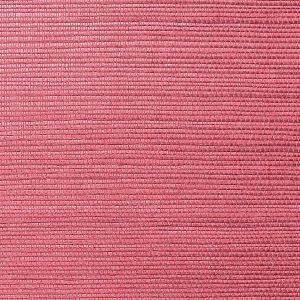 WNM 0039META METALLICA GRASSCLOTH Beet Scalamandre Wallpaper