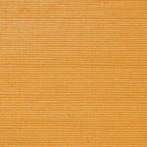 WNM 0043META METALLICA GRASSCLOTH Saffron Scalamandre Wallpaper