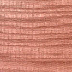 WNM 0047META METALLICA GRASSCLOTH Clay Scalamandre Wallpaper