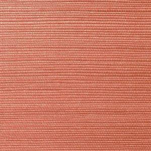 WNM 0048META METALLICA GRASSCLOTH Paprika Scalamandre Wallpaper