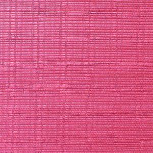 WNM 0049META METALLICA GRASSCLOTH Raspberry Scalamandre Wallpaper