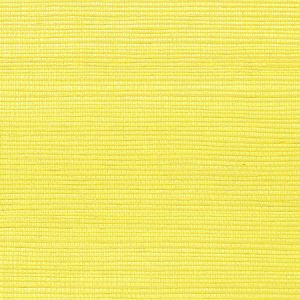 WNM 0057META METALLICA GRASSCLOTH Citron Scalamandre Wallpaper