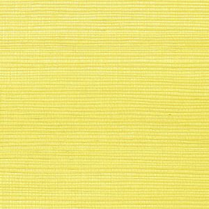 WNM 0058META METALLICA GRASSCLOTH Lemon Scalamandre Wallpaper