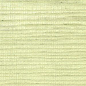 WNM 0065META METALLICA GRASSCLOTH Light Celery Scalamandre Wallpaper