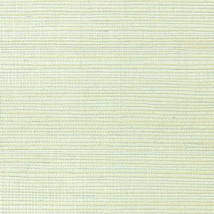 WNM 0078META METALLICA GRASSCLOTH Light Mint Scalamandre Wallpaper