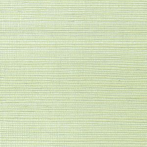 WNM 0082META METALLICA GRASSCLOTH Celadon Scalamandre Wallpaper