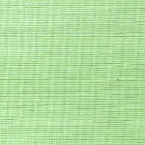 WNM 0094META METALLICA GRASSCLOTH Peridot Scalamandre Wallpaper