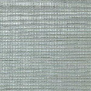 WNM 0122META METALLICA GRASSCLOTH Silver Scalamandre Wallpaper