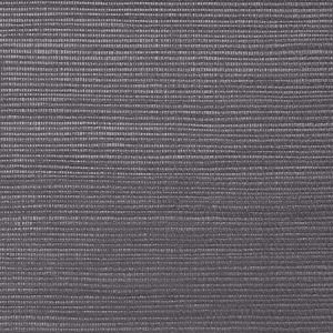 WNM 0143META METALLICA GRASSCLOTH Licorice Scalamandre Wallpaper