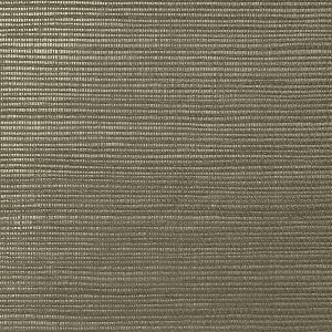 WNM 0144META METALLICA GRASSCLOTH Otter Scalamandre Wallpaper