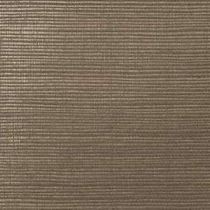 WNM 0146META METALLICA GRASSCLOTH Earl Grey Scalamandre Wallpaper
