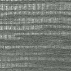 WNM 0147META METALLICA GRASSCLOTH Carbon Scalamandre Wallpaper