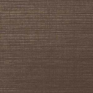 WNM 0154META METALLICA GRASSCLOTH Espresso Scalamandre Wallpaper