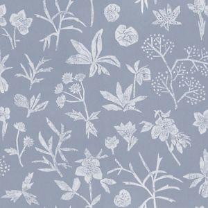 WSB 00360429 JOHANNA FLORAL Light Blue Sandberg Wallpaper