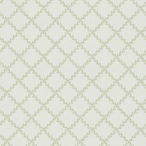 WSB 00380468 EDITH White Green Sandberg Wallpaper