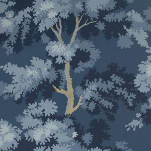 WSB 00760444 RAPHAEL Dark Blue Gold Sandberg Wallpaper