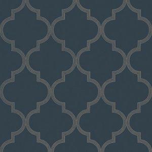 WSB 00760549 GASTON Dark Blue Sandberg Wallpaper