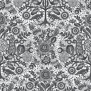 WSB 00910591 MIKA Black Sandberg Wallpaper