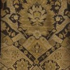 009682T ZODIAC Multi Griege Black Quadrille Fabric