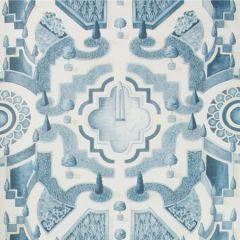 115/2007-CS TOPIARY China Blue Cole & Son Wallpaper