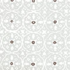149-51WP NITIK II Gray Brown On Almost White Quadrille Wallpaper